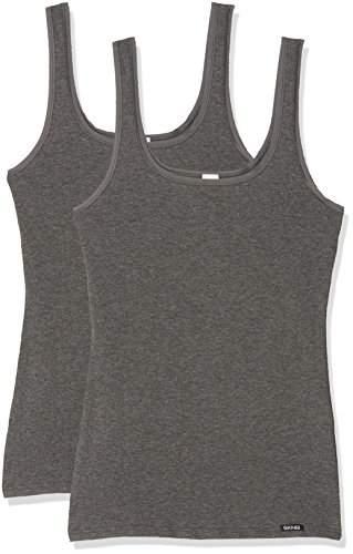 Skiny Women's Advantage Cotton Tank Top Dp Vest, pack of 2,UK
