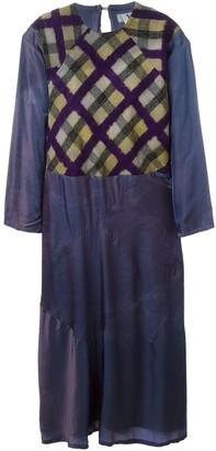 Yohji Yamamoto Pre Owned 'Y' tie-dye dress