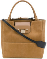 Jimmy Choo Robin leather trim tote - women - Leather/Suede - One Size
