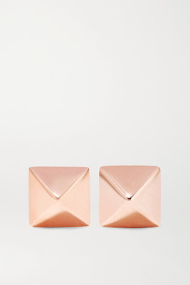 Anita Ko Spike 14-karat Rose Gold Earrings
