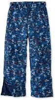 L.L. Bean Boys' Glacier Summit Waterproof Pants, Print