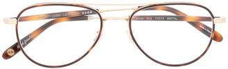 Garrett Leight Linnie RT-G glasses