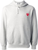 Comme des Garcons embroidered heart sweatshirt - men - Cotton - M
