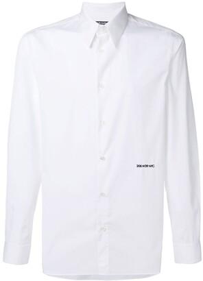 Calvin Klein embroidered logo shirt