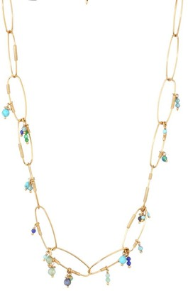 Gas Bijoux Gold-Plated & Glass Bead Necklace
