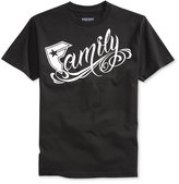 Famous Stars and Straps Men's Big Family Graphic-Print Logo T-Shirt
