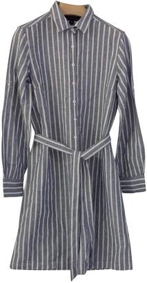 Brooks Brothers Blue Linen Dress for Women