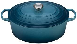 Le Creuset 8 qt. Signature Oval Dutch Oven - Marine