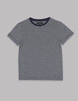 Autograph Cotton Rich Jacquard T-Shirt (3-14 Years)