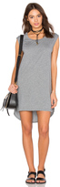 Bobi Supreme Jersey Cut Out Shift Dress