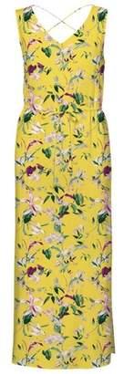 Dorothy Perkins Womens Vero Moda Yellow Floral Print Maxi Dress, Yellow