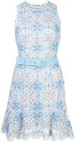 Jonathan Simkhai Charlotte embroidered belted dress