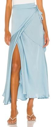 Free People So Silky Wrap Half Slip Skirt