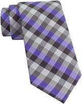 Van Heusen Got It Gingham Slim Silk Tie