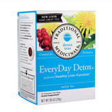 Traditional Medicinals Everyday Detox Tea by 16 Tea Bags)