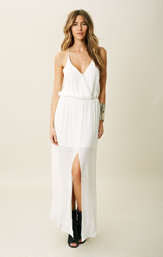 Rory Beca HESS DRAPED WRAP GOWN