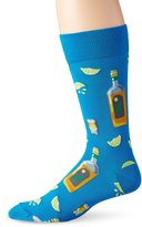 Hot Sox Men's Tequila & Lime Crew Casual Sock