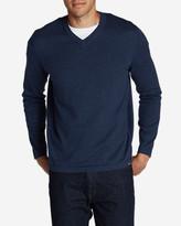 Eddie Bauer Men's Talus V-Neck Sweater