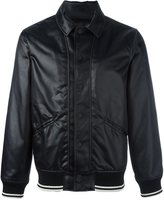 Ports 1961 Follow Me bomber jacket - men - Polyamide/Polyester/Wool - 46
