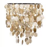 Capiz Hanging Pendant