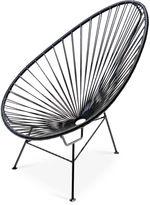 Mexa Acapulco Lounge Chair, Black