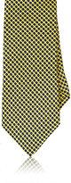 Barneys New York Men's Circle-Print Silk Necktie-YELLOW