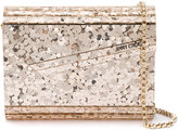 Jimmy Choo Candy Envelope Clutch Bag - women - Calf Leather/Leather/Acrylic/metal - One Size