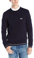 HUGO BOSS BOSS Green Men's Crew Neck Pullover Sweater