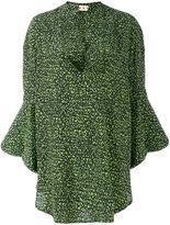 Marni printed tunic - women - Silk - 40