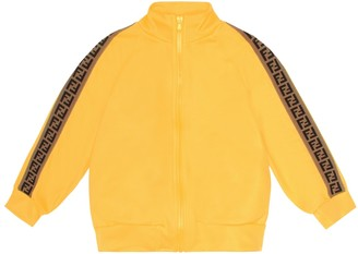 Fendi Kids Cotton-blend track jacket