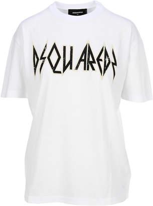 DSQUARED2 Rock Logo T-shirt