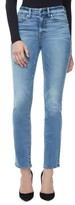 Good American Women's Good Straight High Rise Jeans