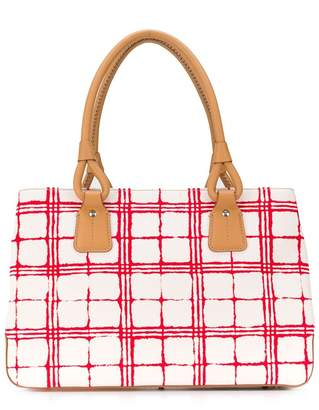Burberry Pre-Owned checked tote bag