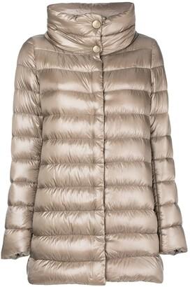Herno Funnel-Neck Padded Coat