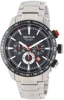 Sector Men's R3273975002 Racing Analog Stainless Steel Watch