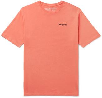 Patagonia P-6 Logo-Print Organic Cotton-Jersey T-Shirt