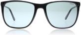 Polo Ralph Lauren 4102 Sunglasses Shiny Black 500187 55mm