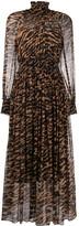 Zimmermann animal-print pleated dress
