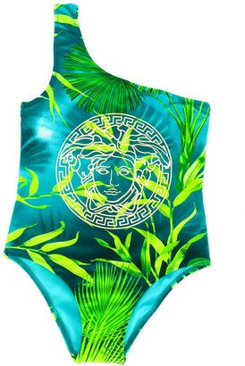 Versace Medusa logo printed swimsuit