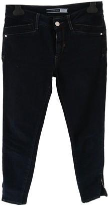 Sportmax Navy Cotton - elasthane Jeans for Women