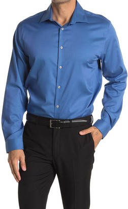 MICHAEL Michael Kors Solid Regular Fit Dress Shirt