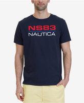 Nautica Men's Logo Graphic Print Cotton T-Shirt, A Macy's Exclusive Style