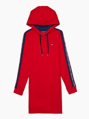 Tommy Hilfiger Essential Logo Tape Hoodie Dress