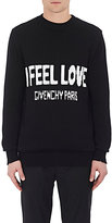 "Givenchy Men's ""I Feel Love"" Cotton Sweater"