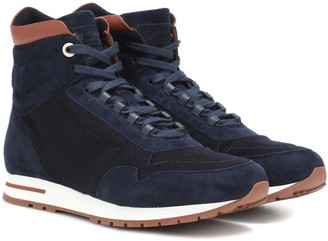 Loro Piana My Cash Storm suede sneakers