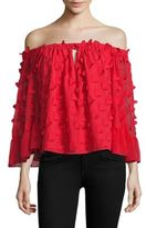 Alice McCall Love Conquer Off-The-Shoulder Top