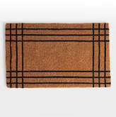 Rejuvenation Stripe Windowpane Doormat
