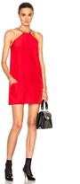Isa Arfen Twiggy Mini Dress in Red.
