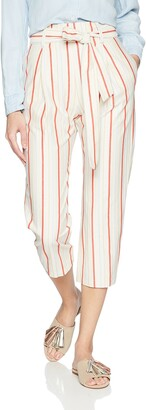 Parker Women's Ramsey High Waist Ankle Length Striped Pant