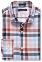 Banana Republic Camden-Fit Gingham 120s Supima Cotton Shirt